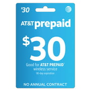 AT&T PREPAID $30 Direct Top Up