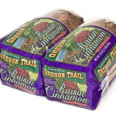 Oregon Trail Raisin Cinnamon with Vanilla Bread - 2-32 oz. (Best Cinnamon Raisin Swirl Bread)
