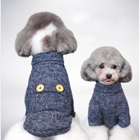 Classic Pet Dog Puppy Clothes,Warm Soft Plush Clothes Puppy Winter Sweater Apparel Jacket Coat Costume