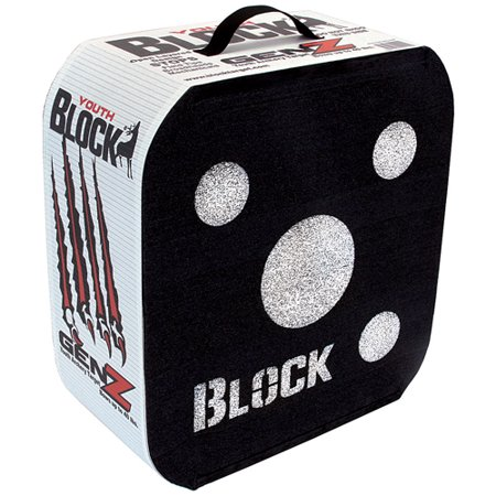 Block Genz Youth Archery Target 16Hx17Wx7.5D. Wt: 6.25 lbs. SKU: 51000 with Elite Tactical Cloth thumbnail