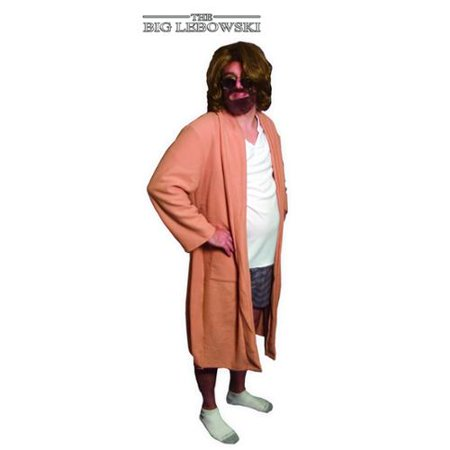 The Big Lebowski The Dude Bath Robe Outfit Costume Adult for $<!---->