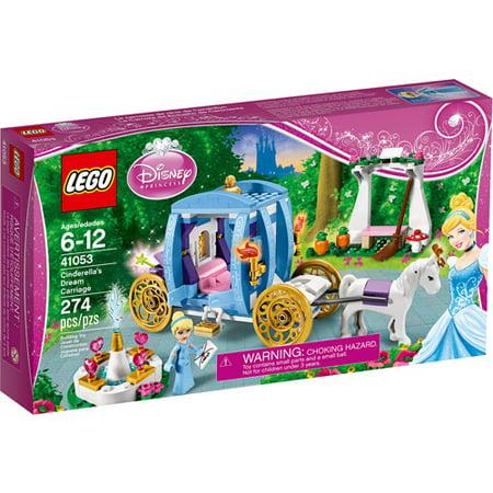 LEGO Disney Princess Cinderella's Dream Carriage Building Set ()
