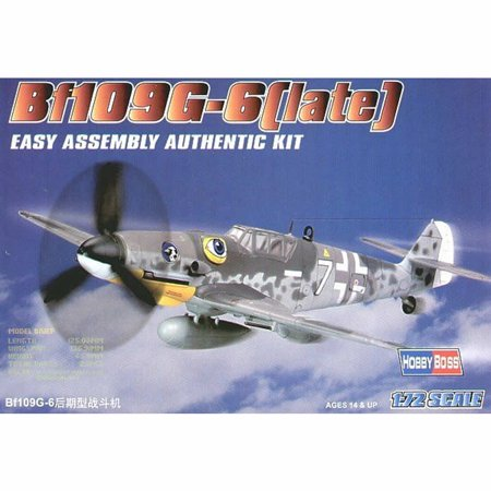 Outlaw Late Models (HobbyBoss 80226 Messerschmitt Bf109G-6 Late Production 1/72 Scale Model Kit )