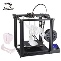 Creality 3D Ender-5 High 3D Printer DIY Kit Aluminum Profile Printing Size 220*220*300mm Support Resume Printing Function with Heat Bed Upgrade Cmagnet Build Plate 8GB TF Card