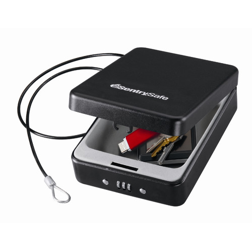 SentrySafe P005C Safe Box with Combination Lock, 0.05 cu ft