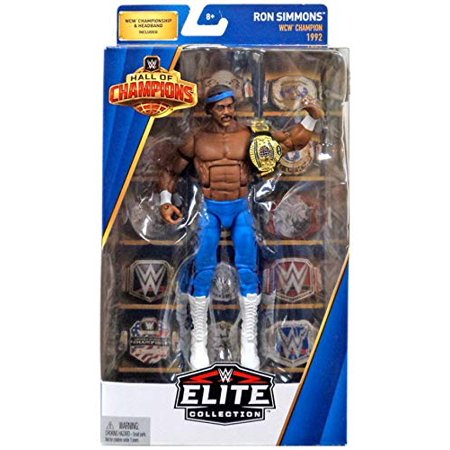 WWE Wrestling Hall of Champions Ron Simmons Action - Womens Wwe Champion