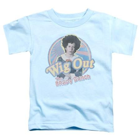 Brady Bunch - Wig Out - Toddler Short Sleeve Shirt - 4T