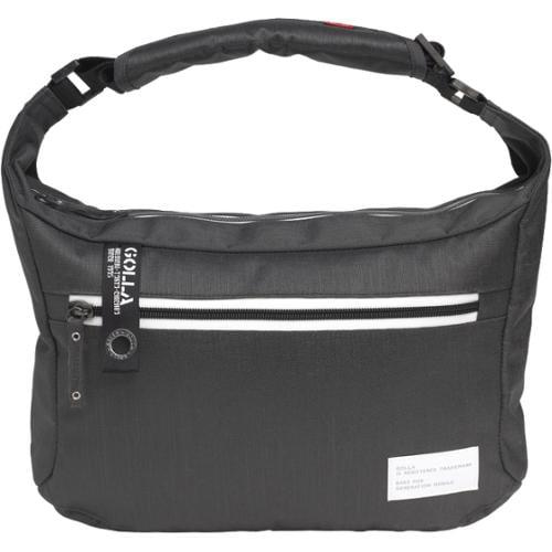 "Golla Milarca Street G Carrying Case [messenger] For 11"" Netbook, Tablet - Dark Gray, Gray - Dirt Proof, Scratch Resistant - Polyamide - Shoulder Strap (g1450)"