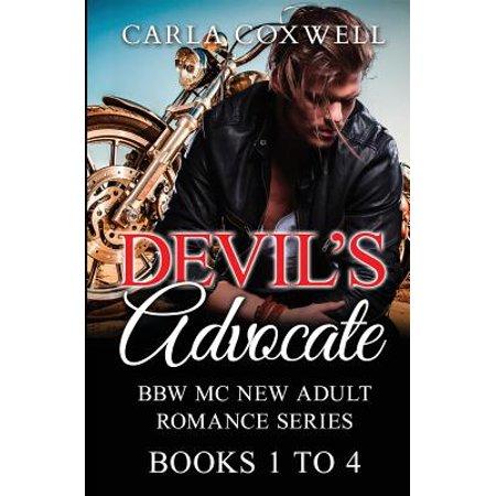 Devil's Advocate Bbw MC New Adult Romance Series - Books 1 to 4 (Mc Bbw Series Collection)