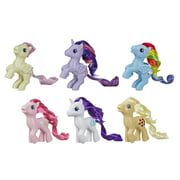 My Little Pony Retro Rainbow Mane 6, 80s-Inspired Collectable Figures