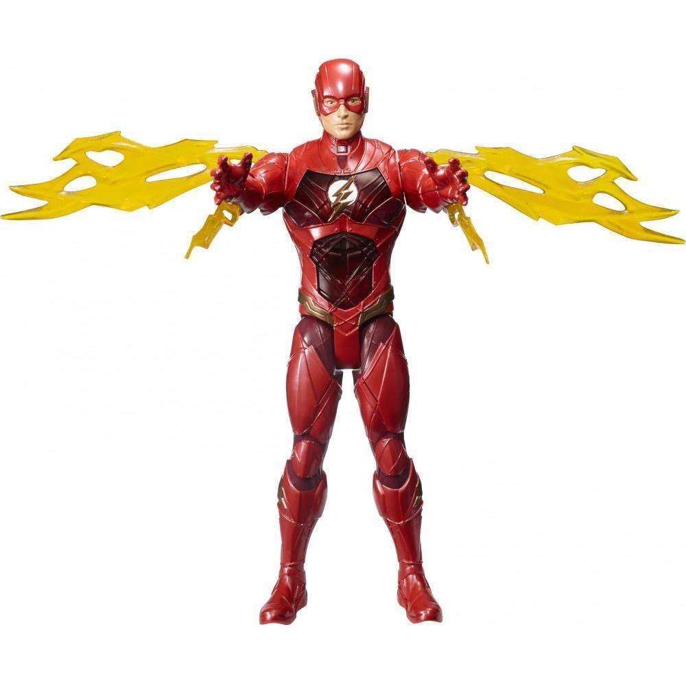 "DC Justice League Electro-Strike The Flash 12"" Figure"