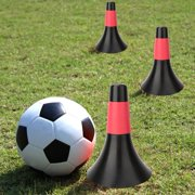 LYUMO Football Cone Soccer Barrier Plastic Obstacle Cup Football Basketball Training Sport Equipment Football Marking Discs