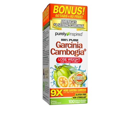 100% Pure Garcinia Cambogia Extract with HCA, Extra Strength, Weight Loss, 100 count Veggie Tablets (packaging may vary), 100% Pure Garcinia.., By Purely (Best Way To Take Garcinia Cambogia Extract)