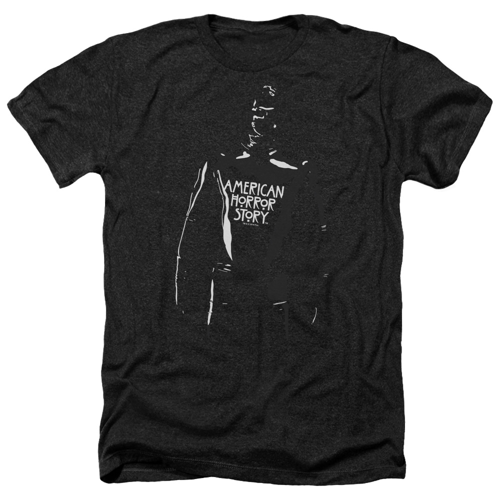 American Horror Story Rubber Man Mens Heather Shirt