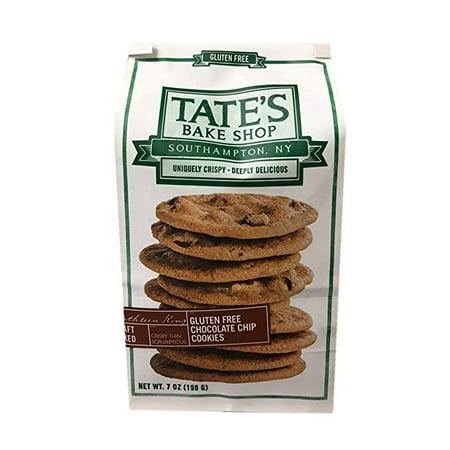 Tate's Bake Shop Craft Baked Crispy Cookie 7oz (Gluten Free Chocolate Chip) (Halloween Easy Bake Cookies)