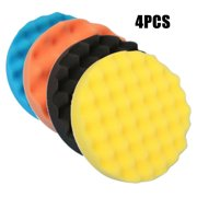 New 4pcs/set Polishing Sponge Pad 180mm for Car Auto Polisher Buffer