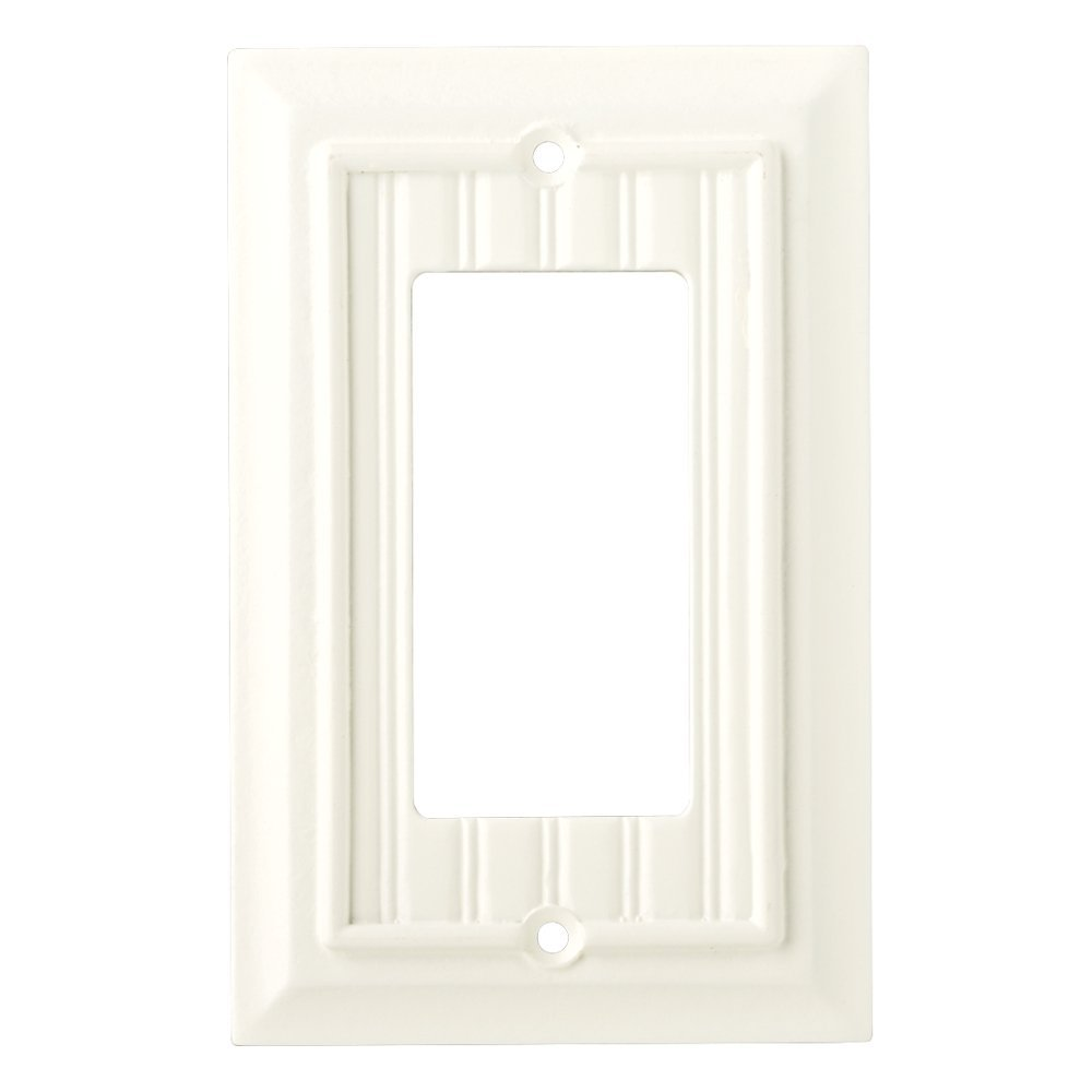 Brainerd 126357 Beadboard Single Decorator Wall Plate / Switch Plate / Cover  sc 1 st  Walmart & Brainerd 126357 Beadboard Single Decorator Wall Plate / Switch Plate ...
