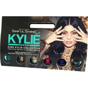 SinfulColors Sinful Shine King Kylie Collection Precious Metals & Crown Jewels 2 Step Manicure Set, 6 pc