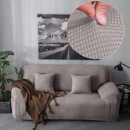 Walfront Comfortable Sofa Couch Cover Chair Throw Mat Furniture Protector Slipcover 1 2 3 4 Seat