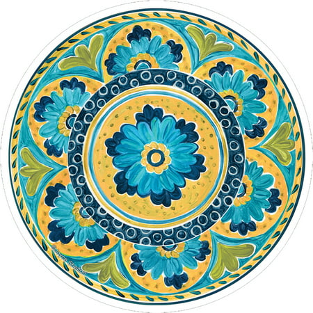 Diva Tile Coaster - Thirstystone Occasions Drink Coaster Set, Mexican Tile