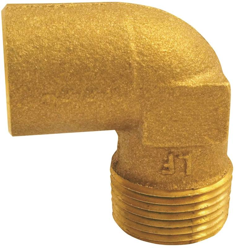 EPC 10156826 Pipe Elbow, 90 deg, 3/4 in, Copper x Male, Cast Copper