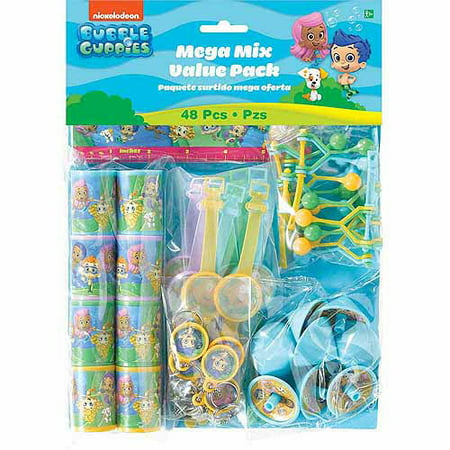 Bubble Guppies Favor Set - Bubble Guppies Party Food Ideas