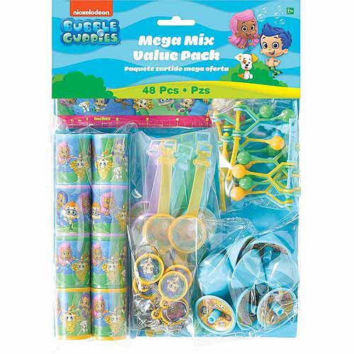 Bubble Guppies Favor Set