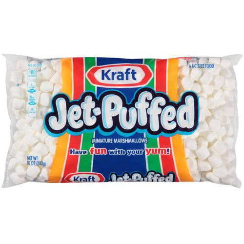 Kraft Jet-Puffed Miniature Marshmallows, 10 oz