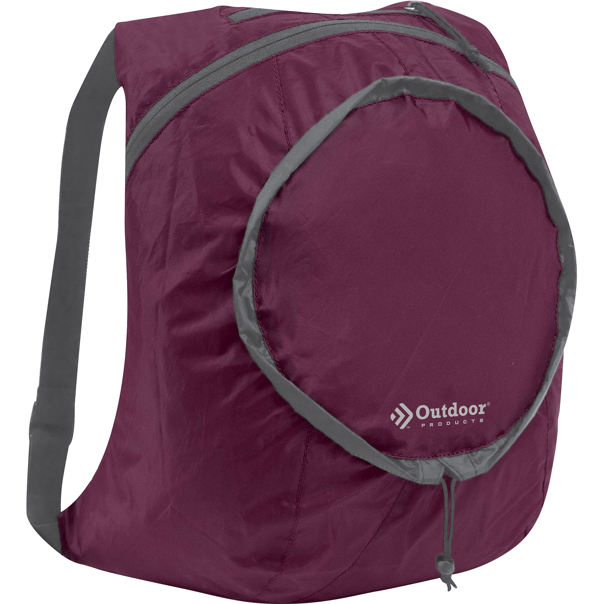 Outdoor Products Packable Backpack Daypack, Purple