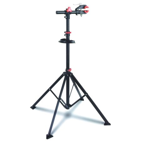 Adjustable Bike Repair Stand with Tool Tray 75 LBS Capacity Quick Release Red - image 4 of 4