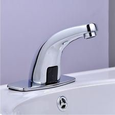 Touchless Automatic Faucet Electronic Basin Automatic Sensor Full Copper Tap