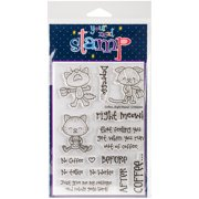 """Your Next Stamp Clear Stamps, 4"""" x 6"""", Coffee Right Meow"""