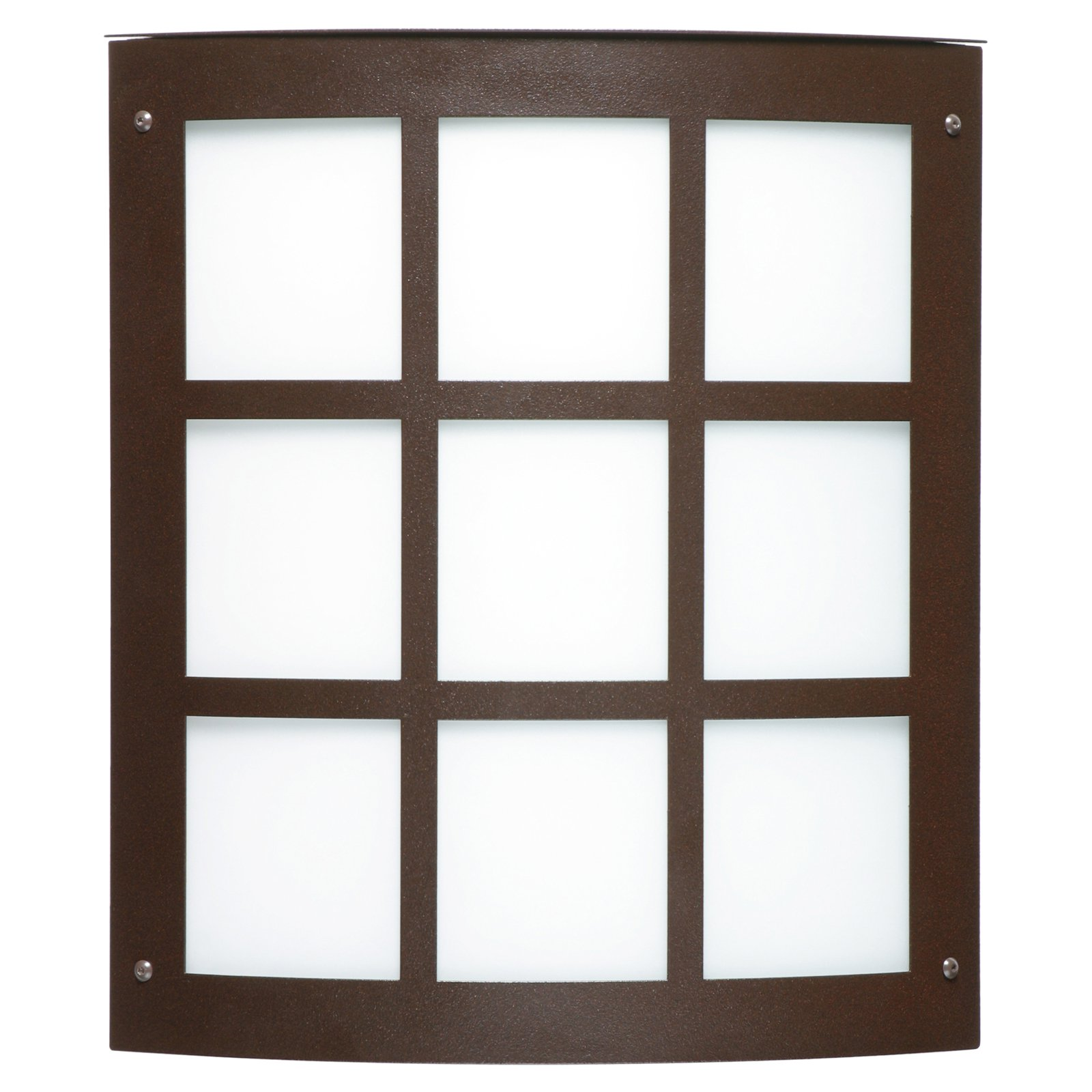 Besa Lighting Moto 11 Grid Outdoor Wall Sconce