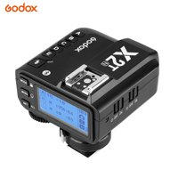 Godox X2T-N i-TTL Wireless Flash Trigger 1/8000s HSS 2.4G Wireless Trigger Transmitter for Nikon DSLR Camera for Godox V1 TT350N AD200 AD200Pro for X/8/8 Plus for HUAWEI P20 Pro/Mate 10 for S8 Note8