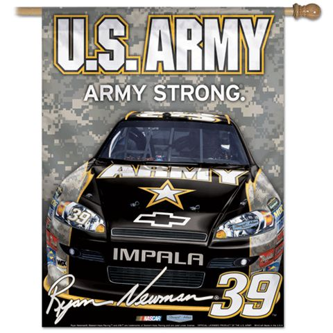 Ryan Newman Vertical Flag: 27x37 Banner