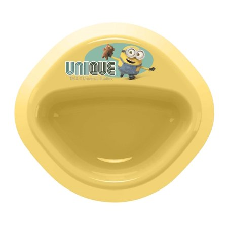 Zak Designs Toddlerific 6.25 In. Minions No Tip Bowl, (Tip Bowl)
