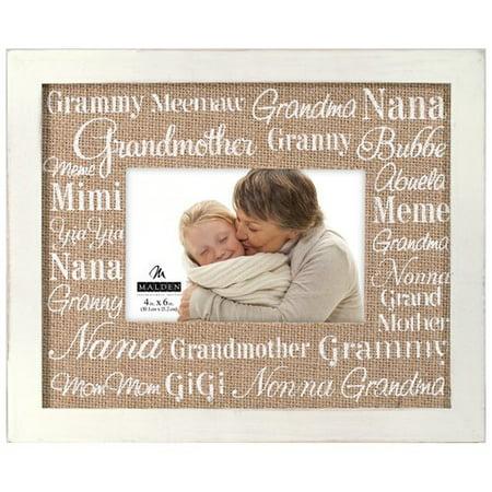 Malden Grandmother Sentiments Picture Frame - Walmart.com