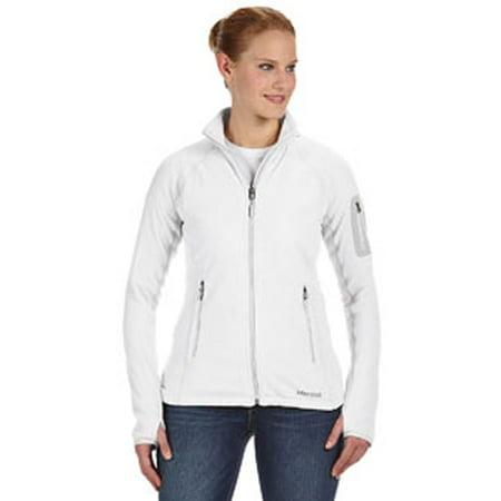 Marmot Women's Flashpoint Fleece Jacket, White, Small (Marmot Fleece Jacket)