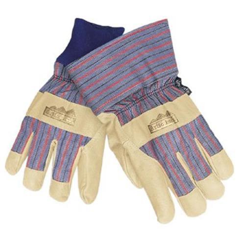 MCR Safety Artic Jack 1965 Pigskin Leather Palm Glove w/Thermosock Liner-LG-12PR
