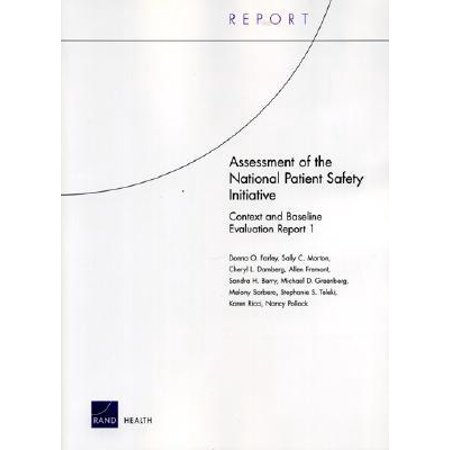 Assessment of the National Patient Safety Initiative : Context and Baseline Evaluation Report