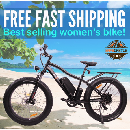 783007994d40 Breeze Miri Fat Tire Electric Mountain Bike 500W