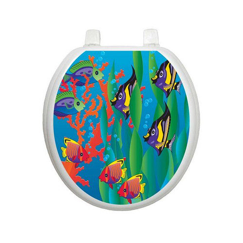 Toilet Tattoos Youth Under The Sea Toilet Seat Decal