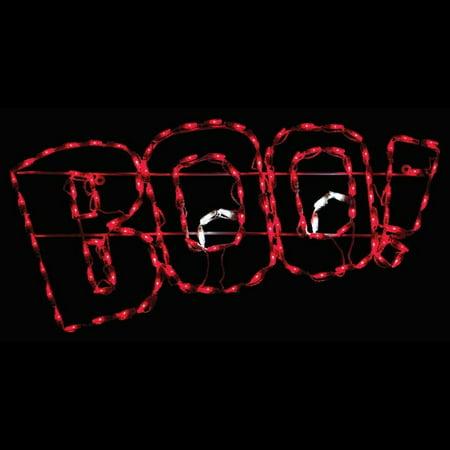 Balcony Decorating Ideas For Halloween (Brite Ideas BOO! LED Display)