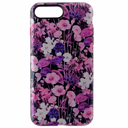 buy popular 4c764 e46d3 Speck Presidio Inked Hybrid Case for iPhone 7 Plus - Flowers / Pink Metallic