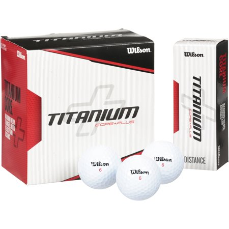 Hawaiian Golf Ball - Wilson Titanium Golf Balls, 18 Pack