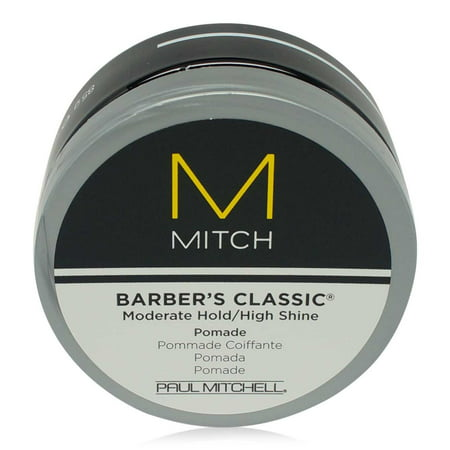 Paul Mitchell Tea Tree Grooming Pomade - Paul Mitchell Mitch Barbers Classic Pomade 3 oz.