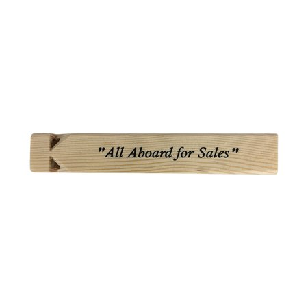All Aboard For Sales Train Whistle The Office TV Show Prop Michael Scott Gift