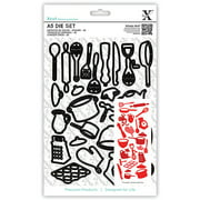 Xcut A5 Die Set 26 Pieces-kitchen Utensi