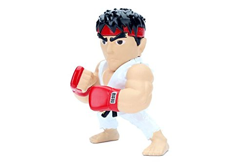 "Jada Toys Metals Street Fighter 4"" Classic Figure Ryu (M305) Toy Figure by"