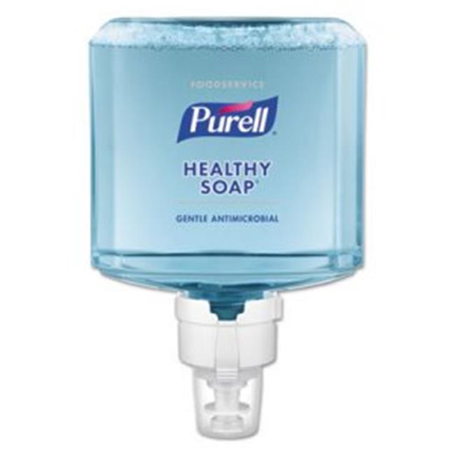 GOJO Industries 778002 1200 ml Purell Foodservice Healthy Soap 0.5 Percent BAK Antimicrobial ES8 Touch-Free Foam Dispenser